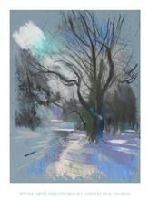 Winter, Grove Park Towards All Saints