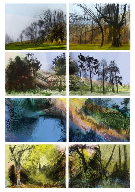 Neal Vaughan panoramic works