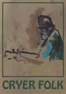 Cryer Folk (tea) A3 digital print from pastel