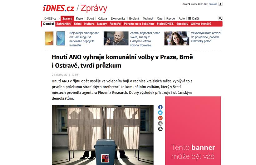 Váš banner na idnes.cz