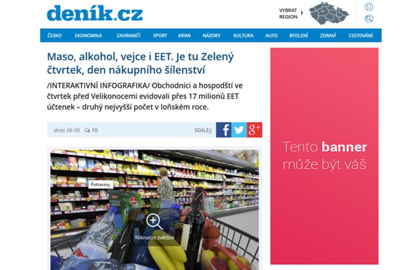 Váš banner na denik.cz