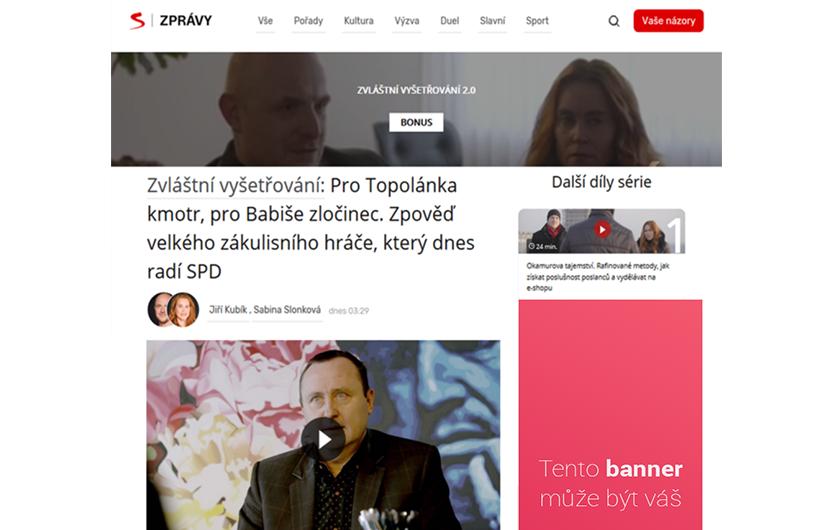 Váš banner na seznam.cz
