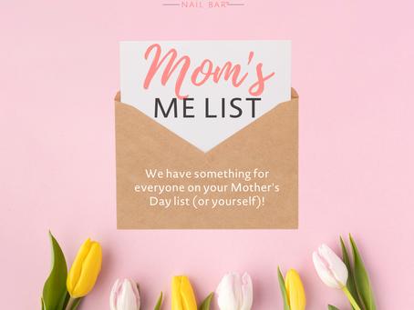 Mom's Me List