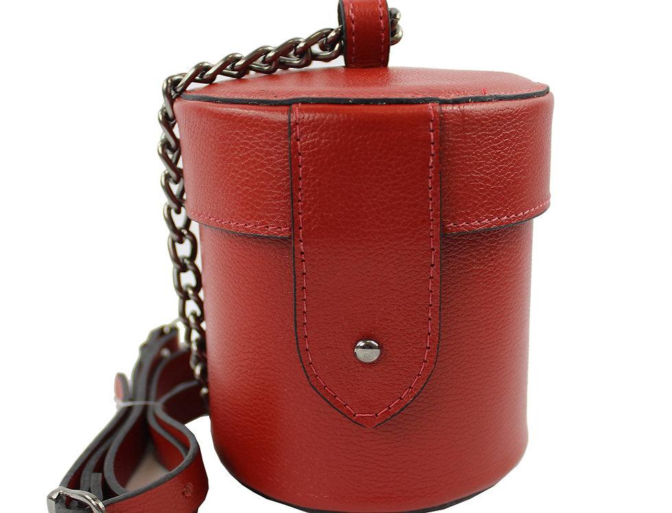 Bolsa mini bag em couro pequeno