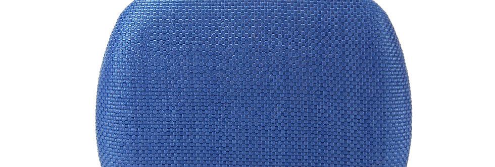 Clutch sintética com detalhe em palha