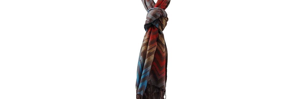 Lenço colorido