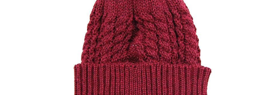 Touca unissex de trico