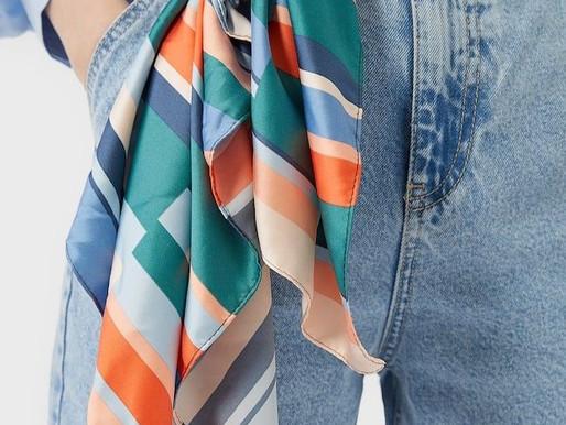 5 maneiras de usar lenço
