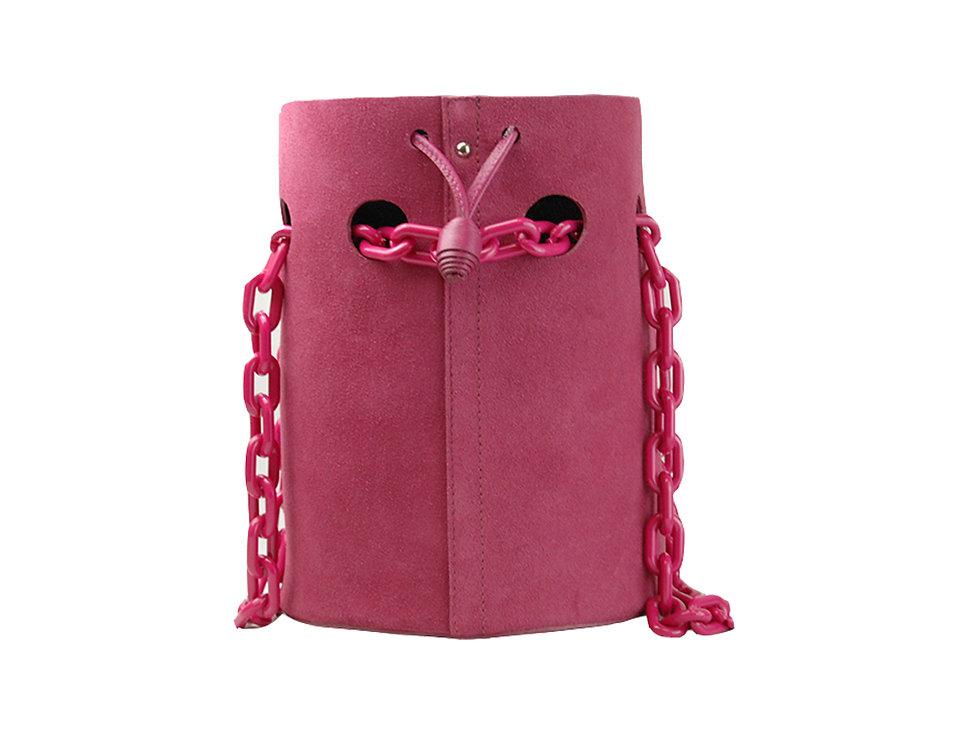 Bolsa saquinho em couro