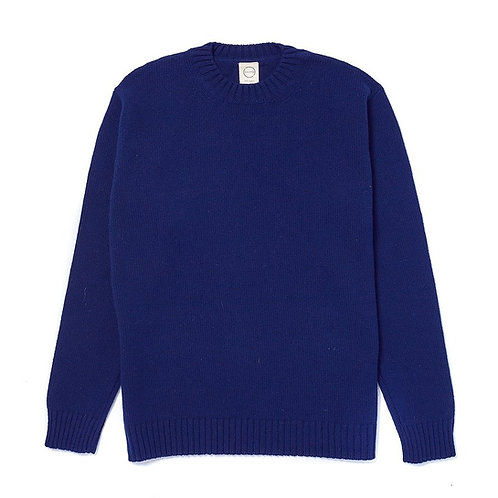 Country Of Origin - Pull col rond navy