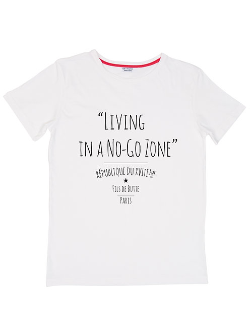 FDB - T-shirt No Go Zone