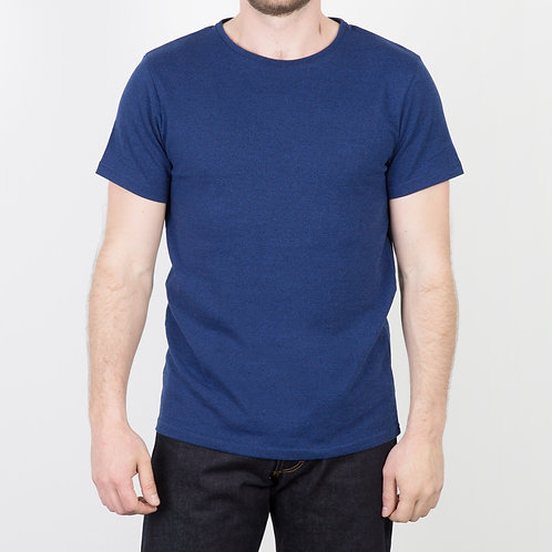 FDB - T-shirt Heavy Jaspé Indigo