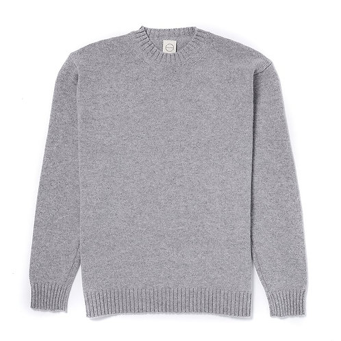 Country Of Origin - Pull col rond Gris