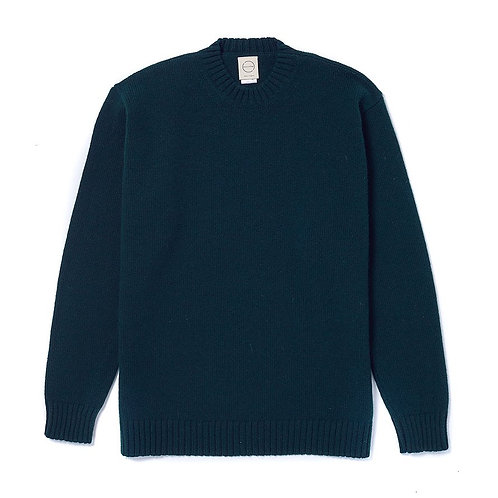 Country Of Origin - Pull col rond vert