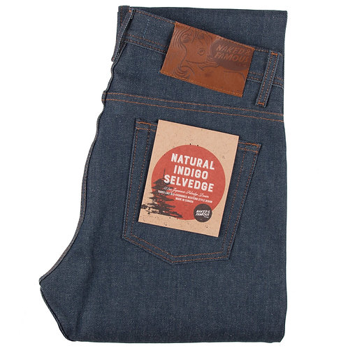 Naked and Famous - Natural Indigo Selvedge