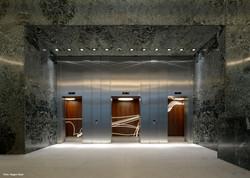 Aufzugshalle