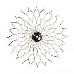 sunflower-clock-wanduhr-hellbraun-955a02