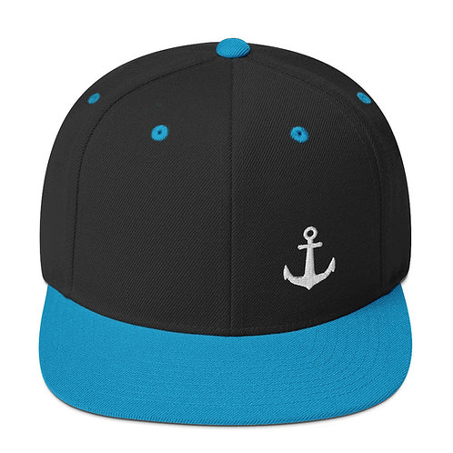 ANCHOR | Classic Embroidered Snapback Hat