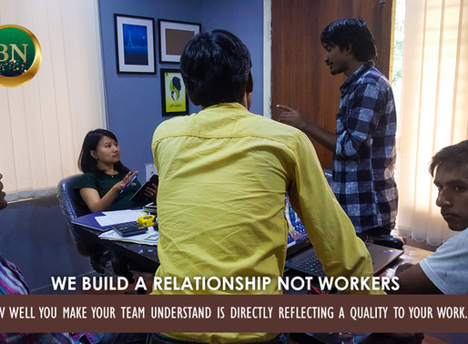 We build a relationship, not workers