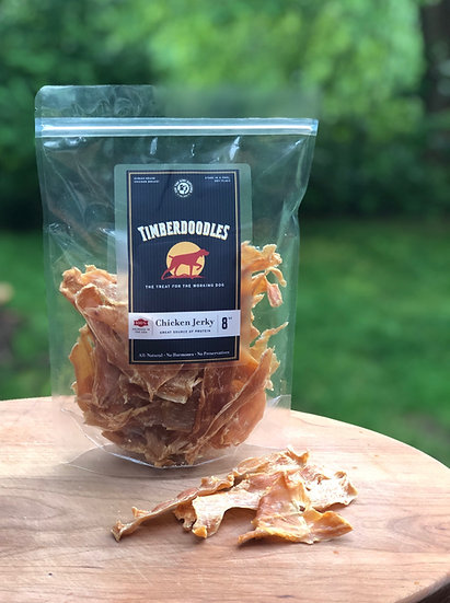 Chicken Jerky, 4 or 8 oz