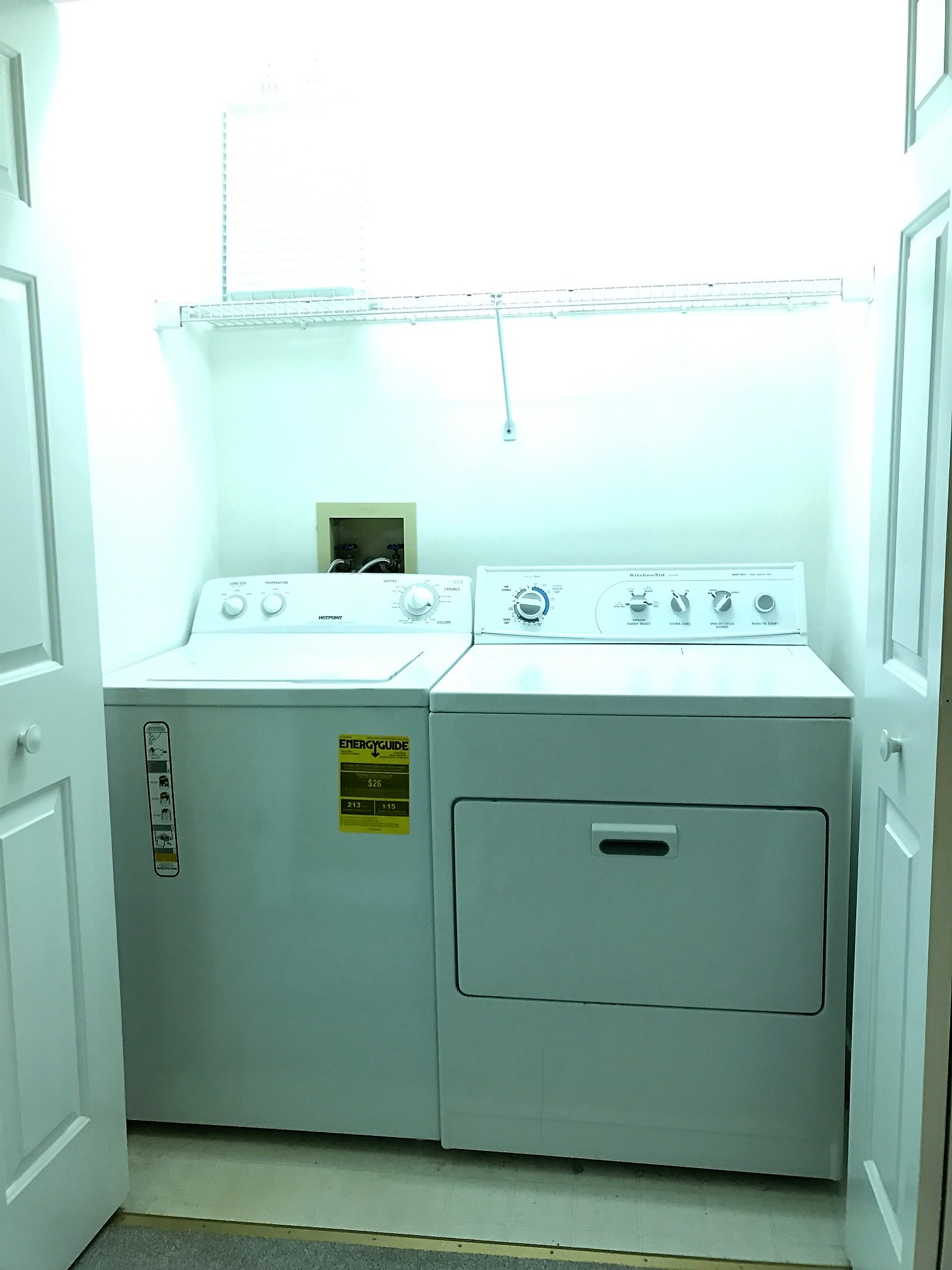 Upstairs Laundry Area