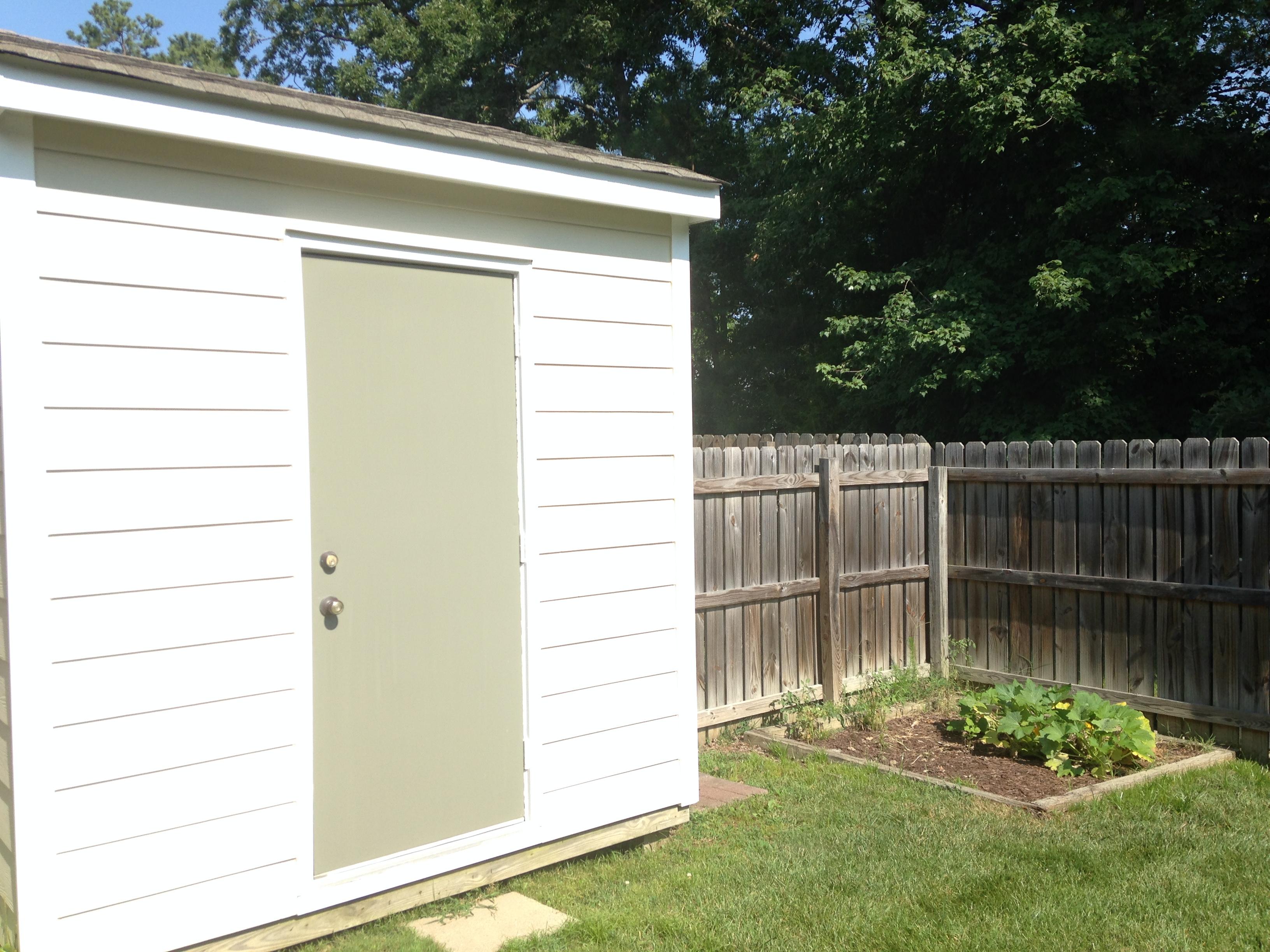 Detached shed