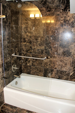 Bathroom with marble & upgrades