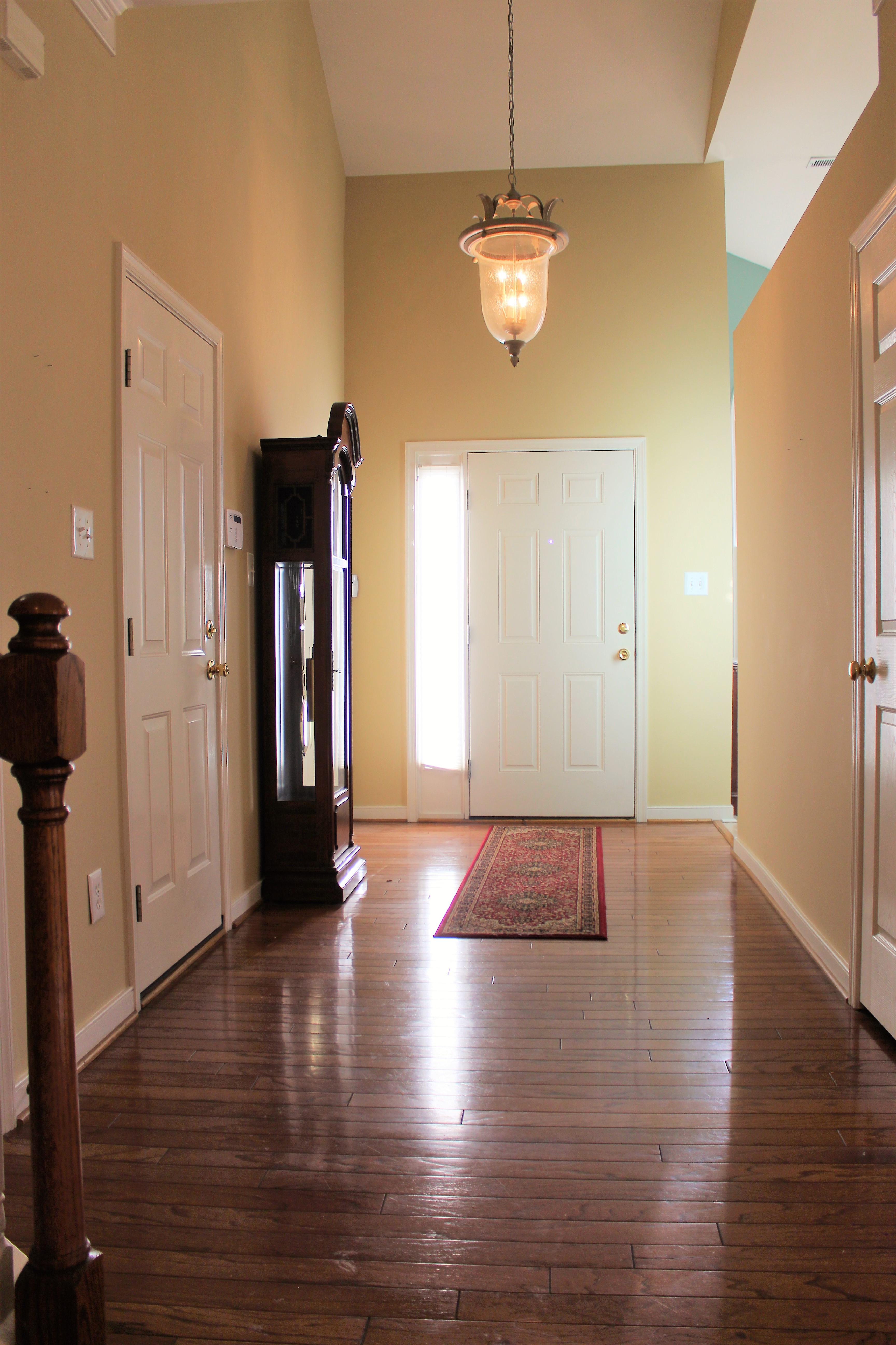 Vaulted Foyer