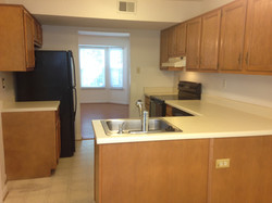 Kitchen with all appliances