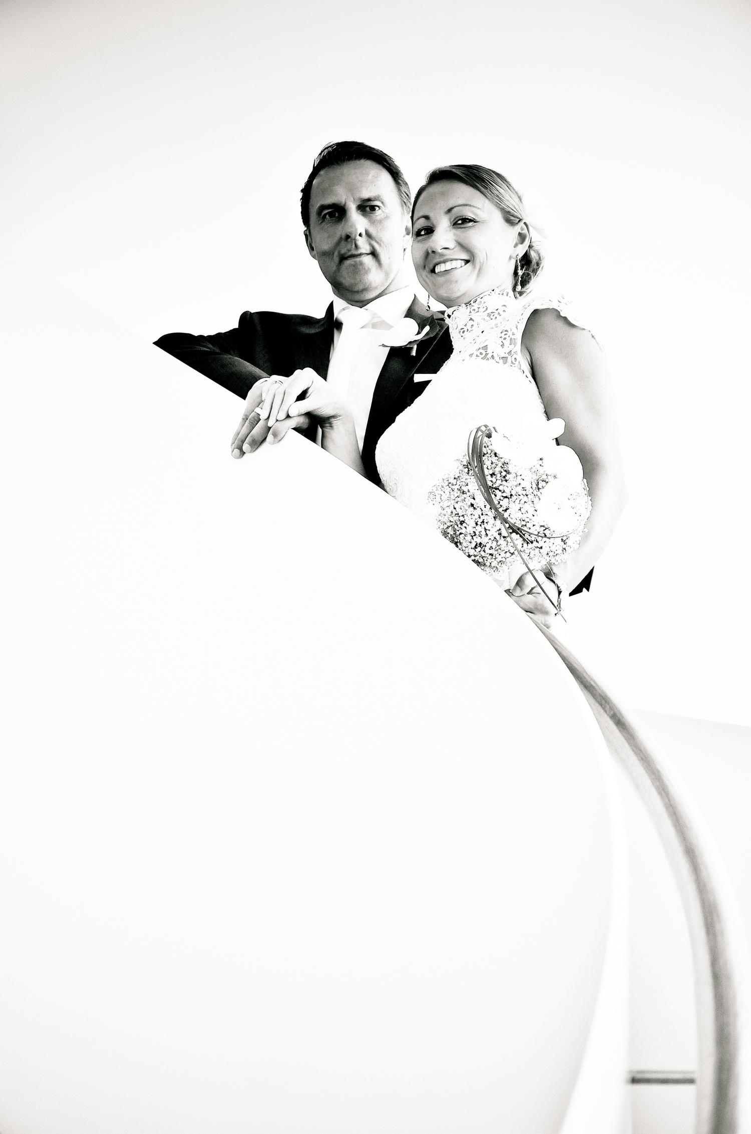 Brautpaar S/W