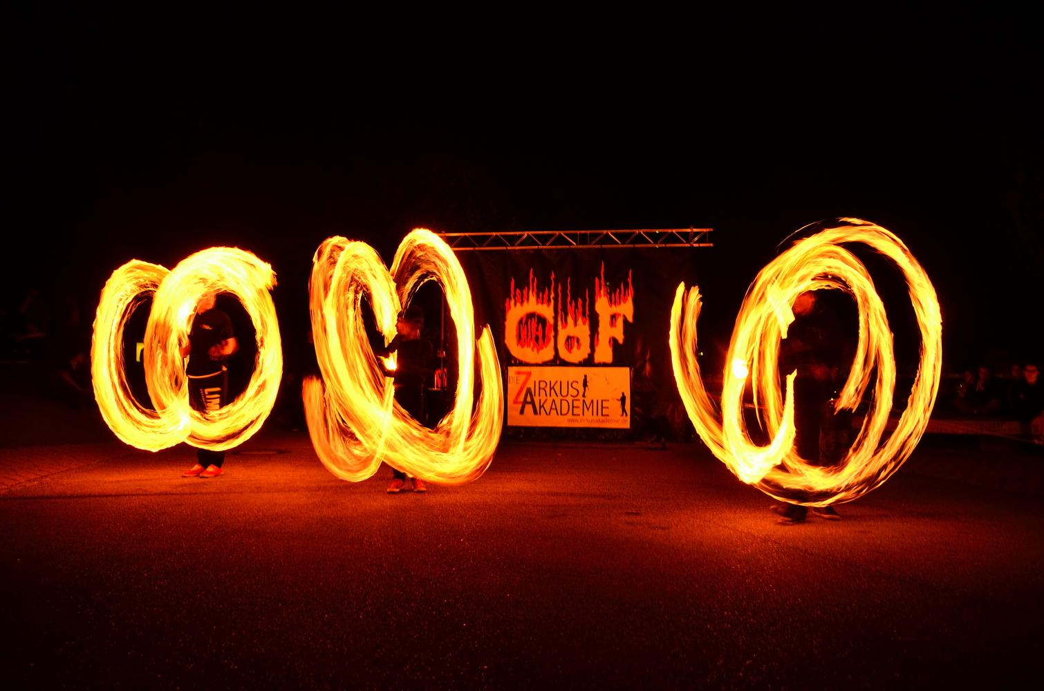 ZirkusAcademie Feuershow