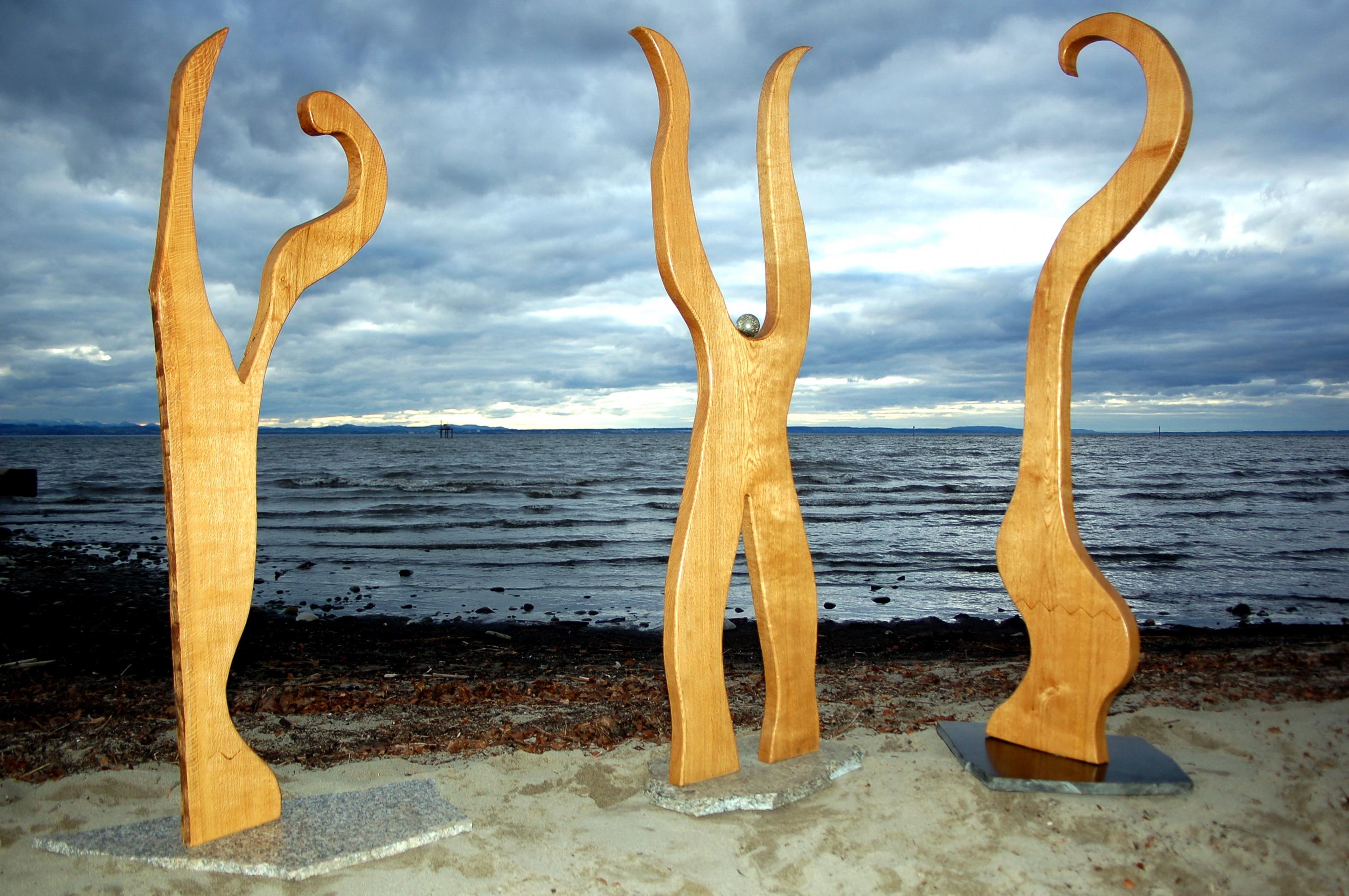 Holzskulpturen Brigitte Schaider