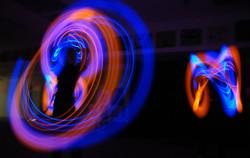 LED Jonglage
