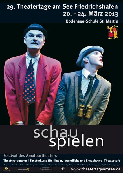 Theatertage Plakat 2013