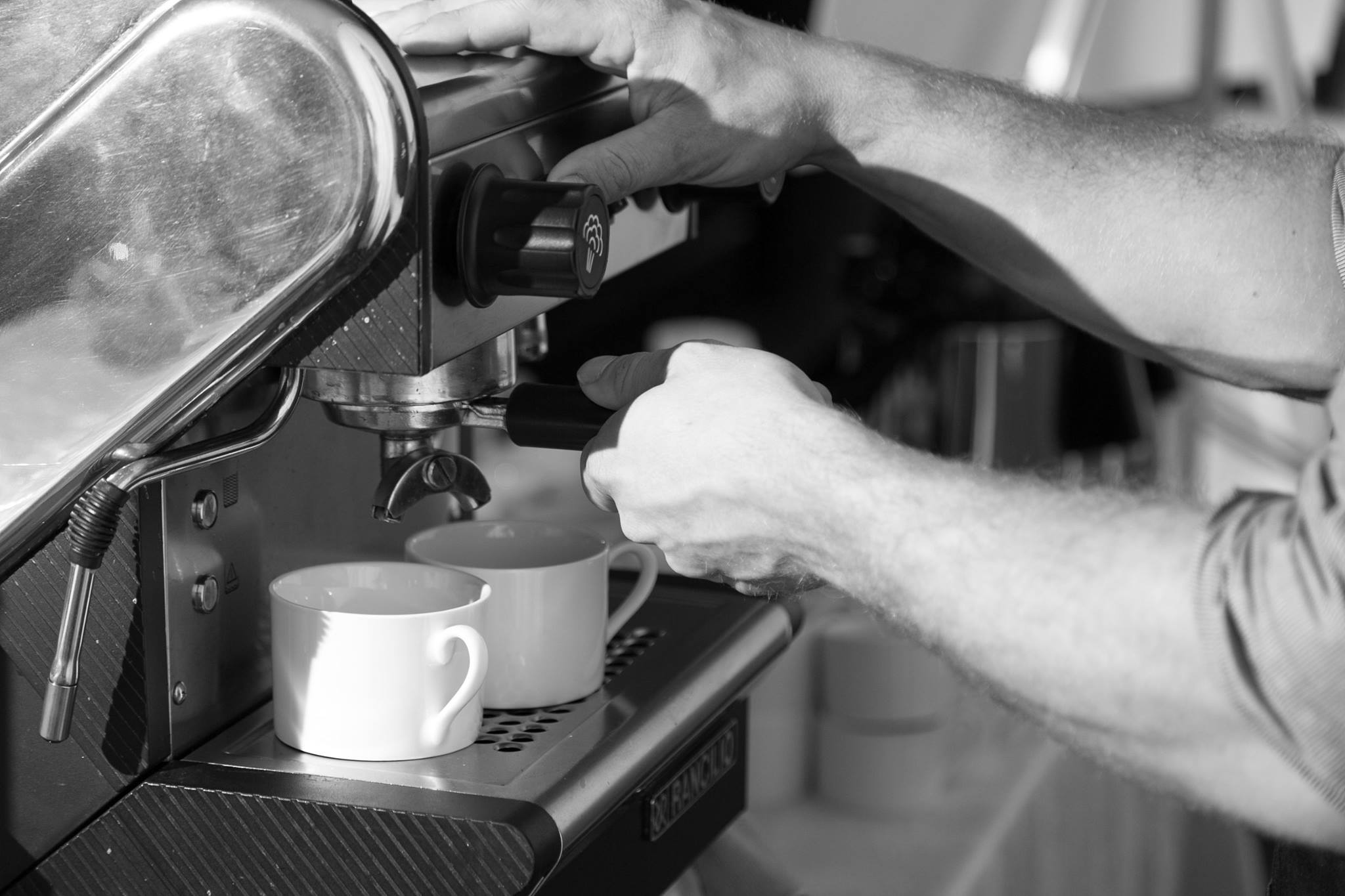 Pouring Espresso Shots