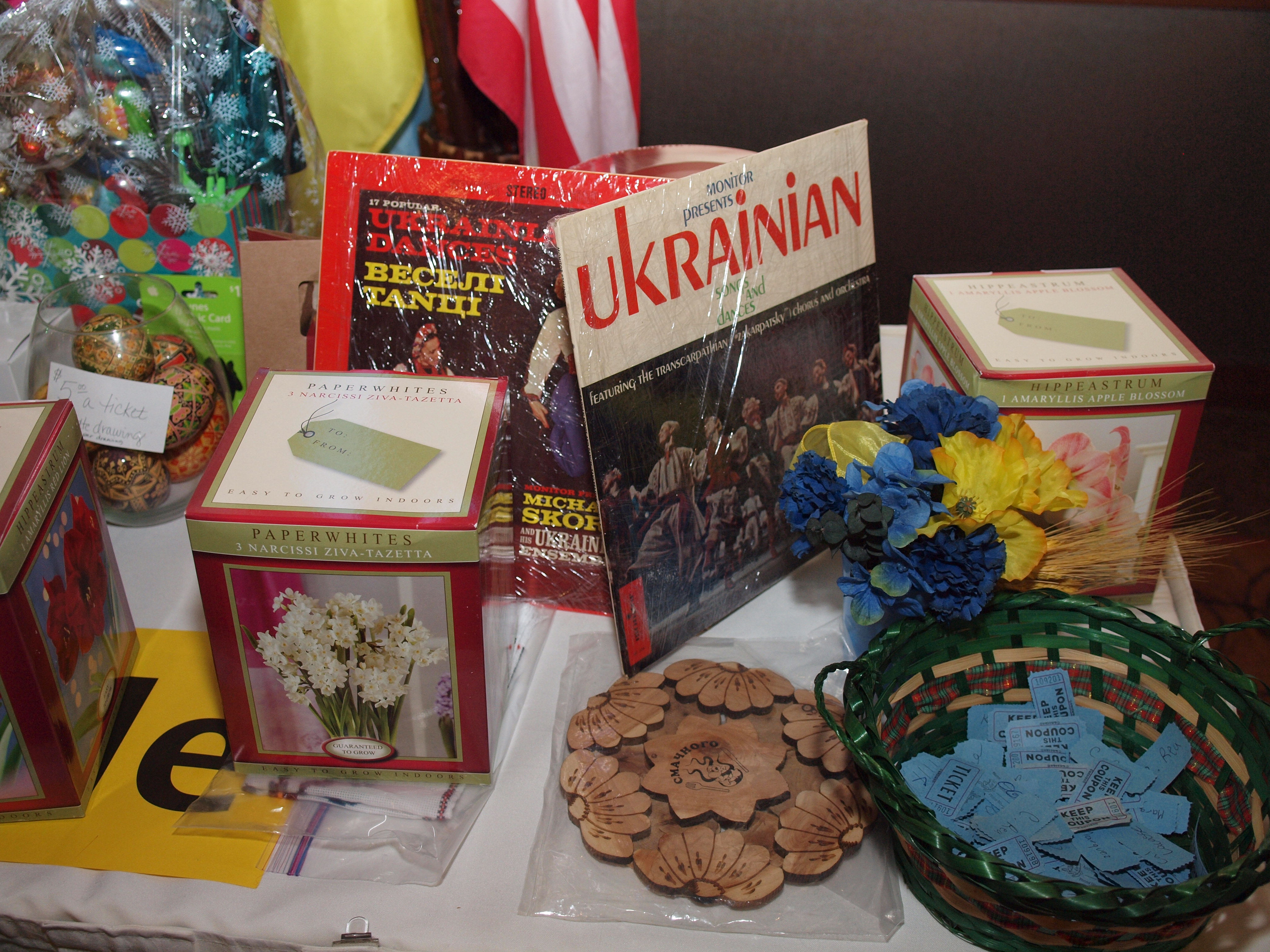 2015 Malanka Raffle Items