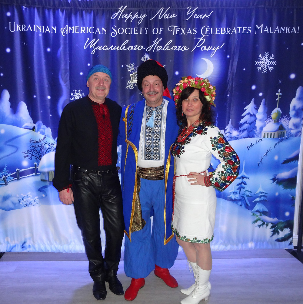 Musicians: Oleh Melnichouk and Irena Teneta with MOSAIC and Roman Cherwonogrodzky from Houston