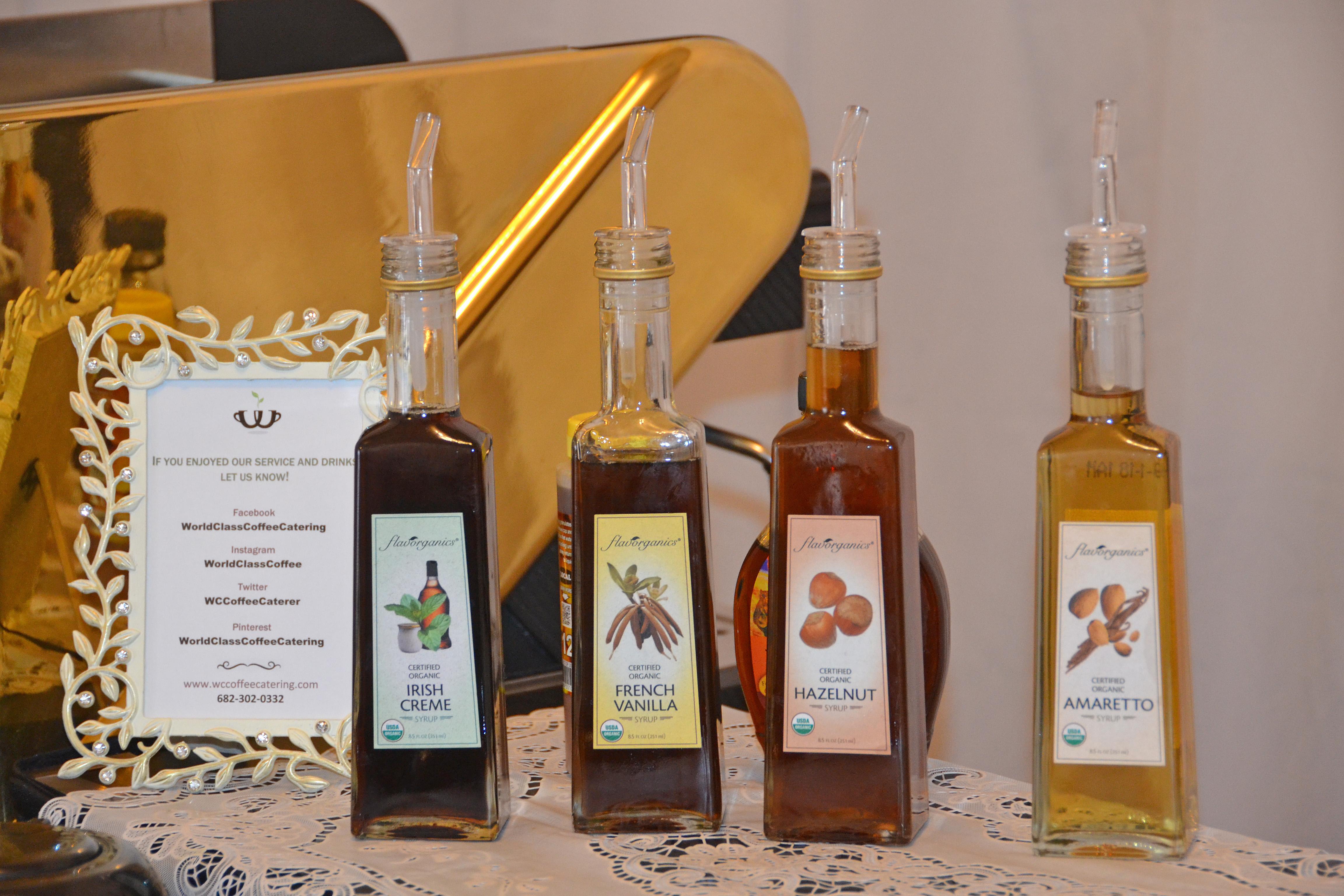 Organic Syrup Bottles