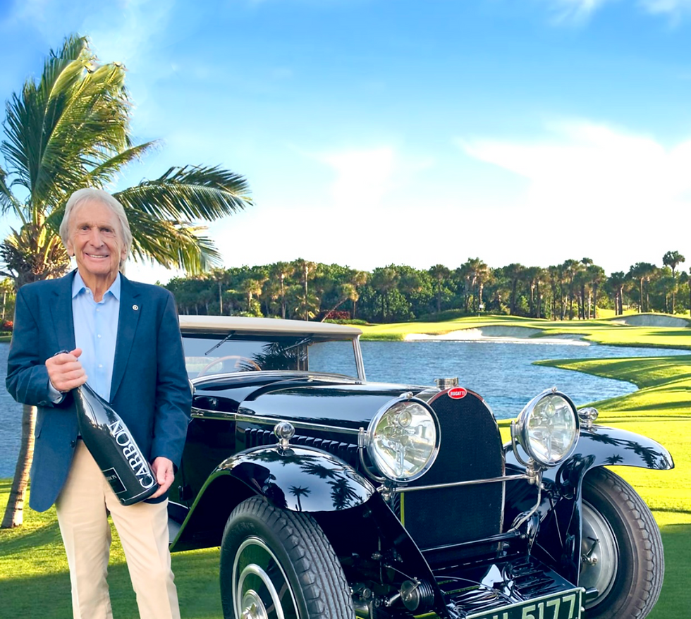 Palm Beach Concours and Derek Bell