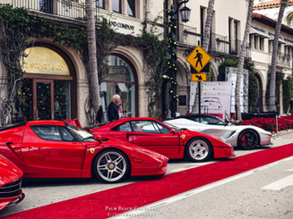 Ferrari Enzo, F40 and LaFerrari
