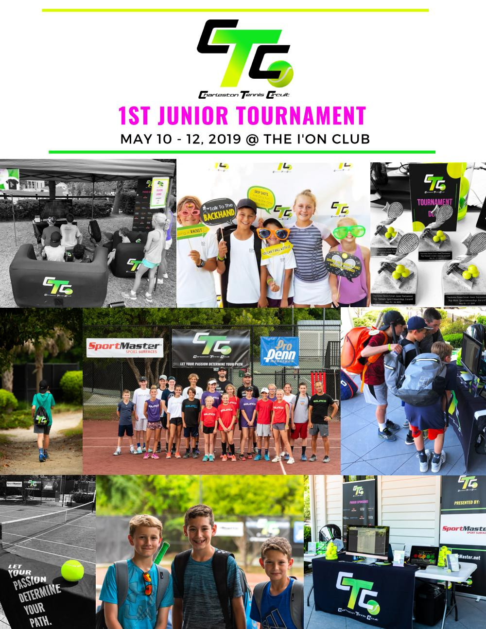 Images from the 1st CTC Junior tournament at the I'ON Tennis Club