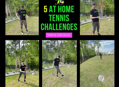 5 At Home Tennis Challenges