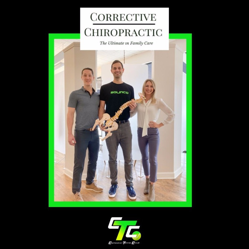 Official announcement of the partnership with Corrective Chiropractic