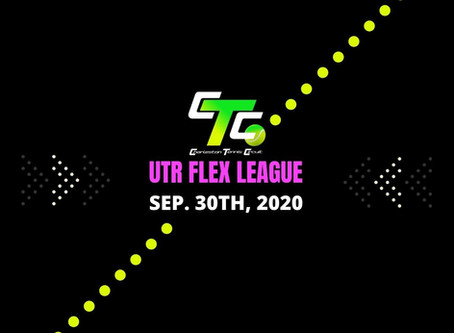 More UTR Tennis Playing Opportunities with CTC: Introducing Flex League