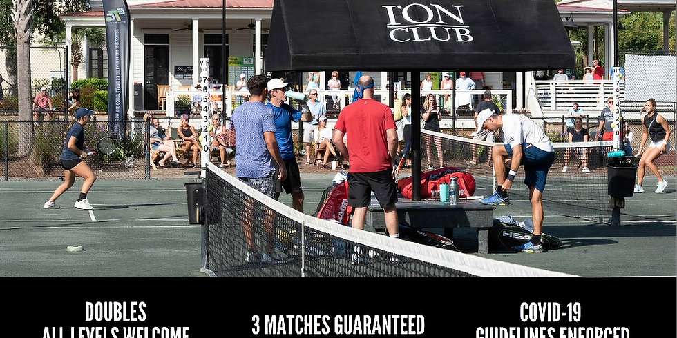 Adult Doubles Tournament at I'ON Tennis Club powered by SportMaster