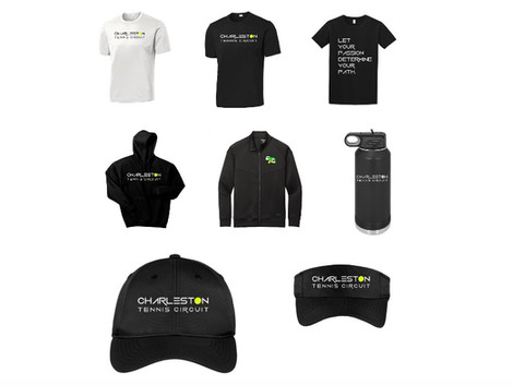 The launch of our online store plus so many upcoming spring tennis playing opportunities!