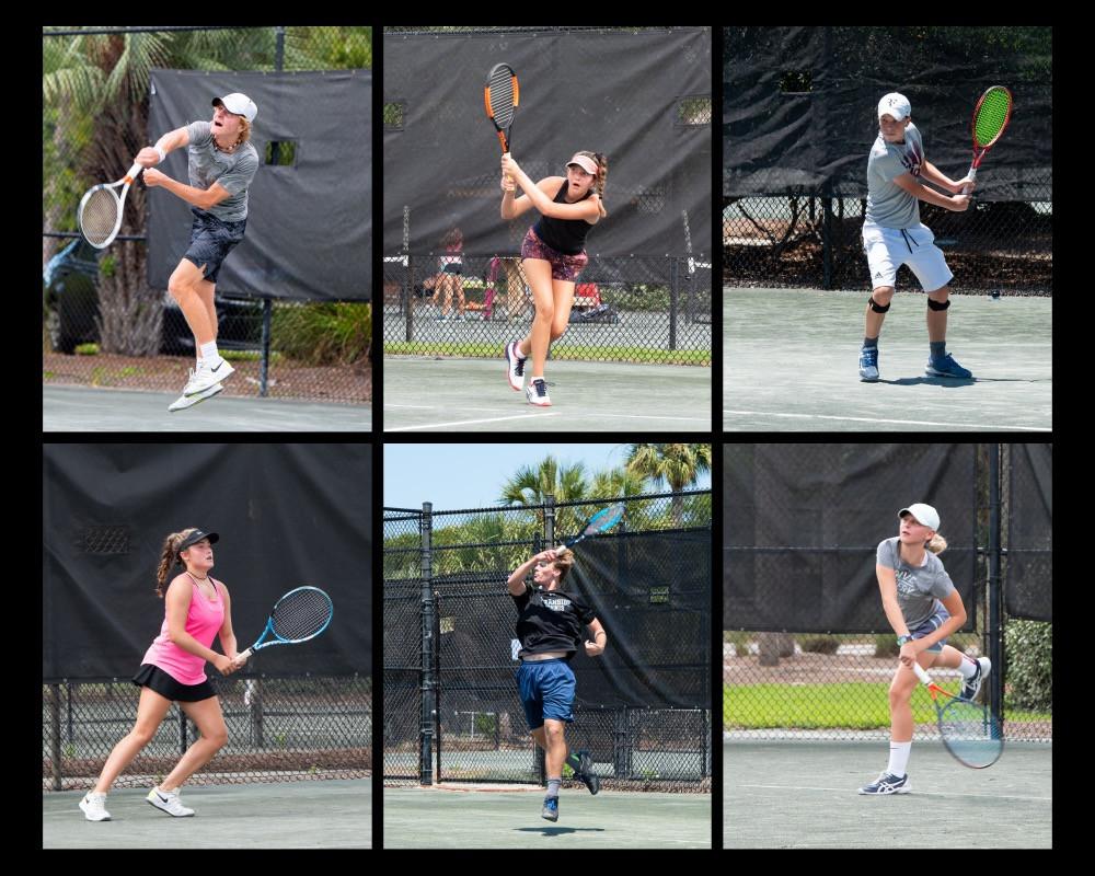 Tournament Player Action Shots