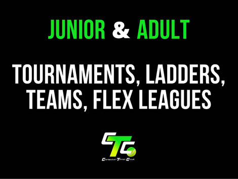 Junior & Adult 2021 Tournament Updates!