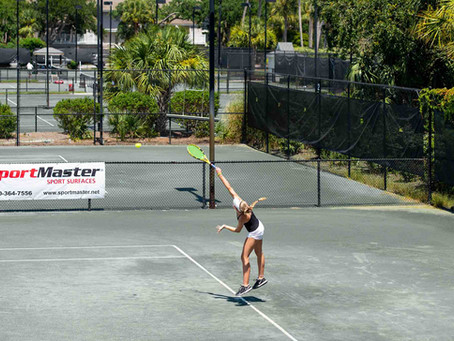 Recap: Junior Tennis Tournament at Wild Dunes