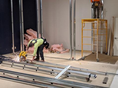 Big construction progress at Options clinic
